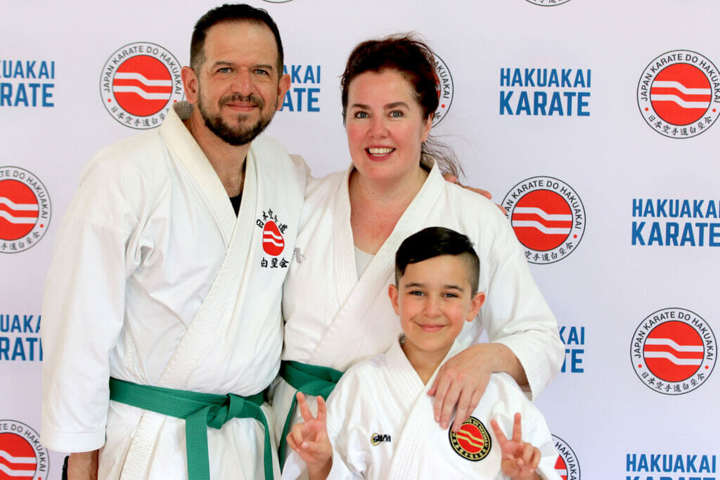 karate for all the family