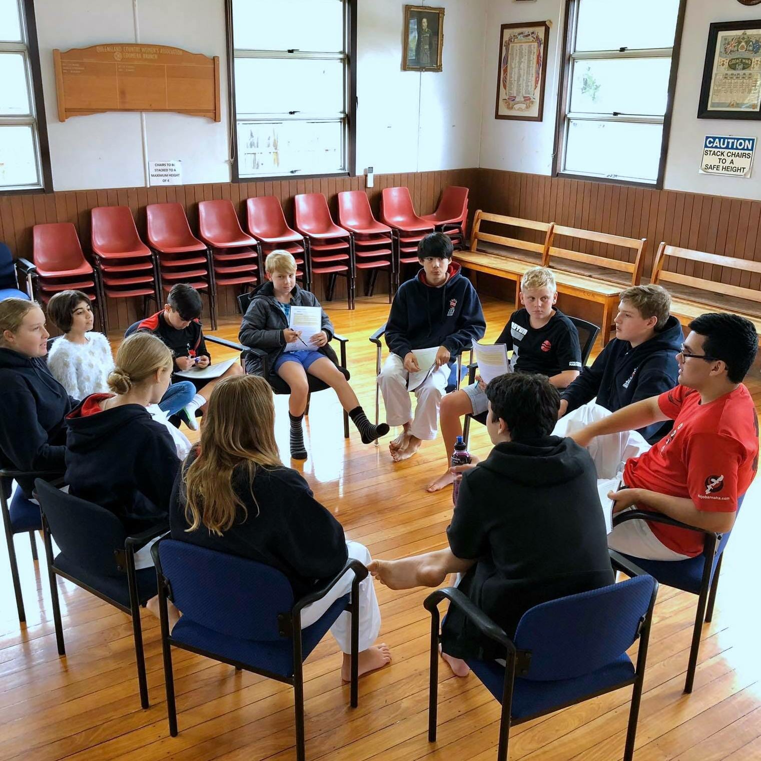 Karate Leadership Team Gold Coast Dojo