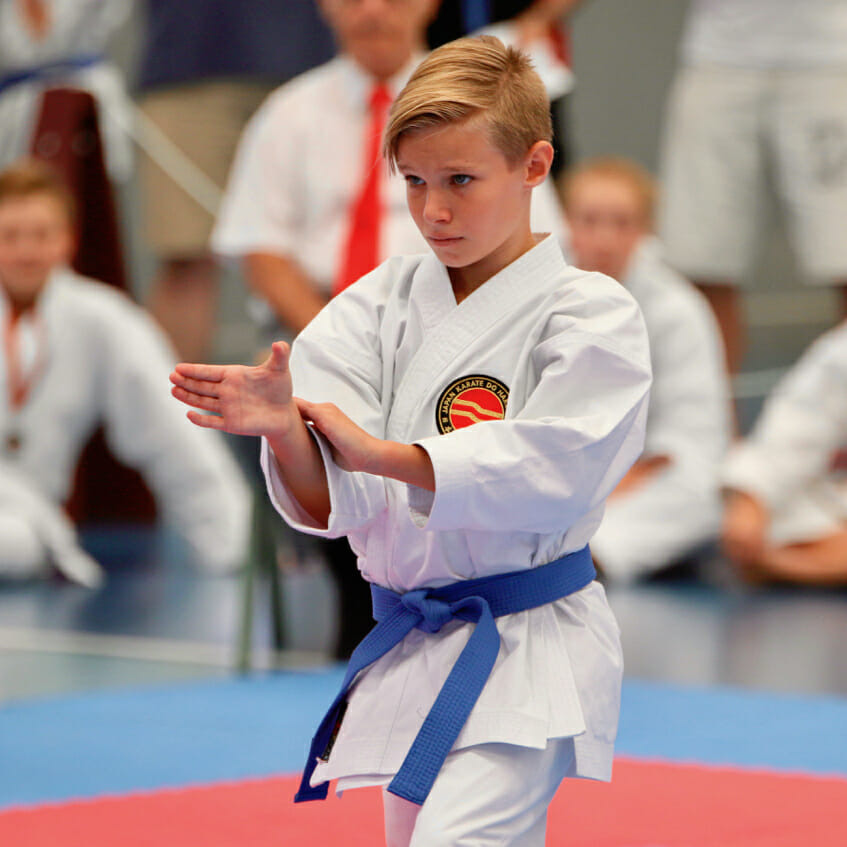 Juniors Karate Classes for ages 9-12 on the Gold Coast