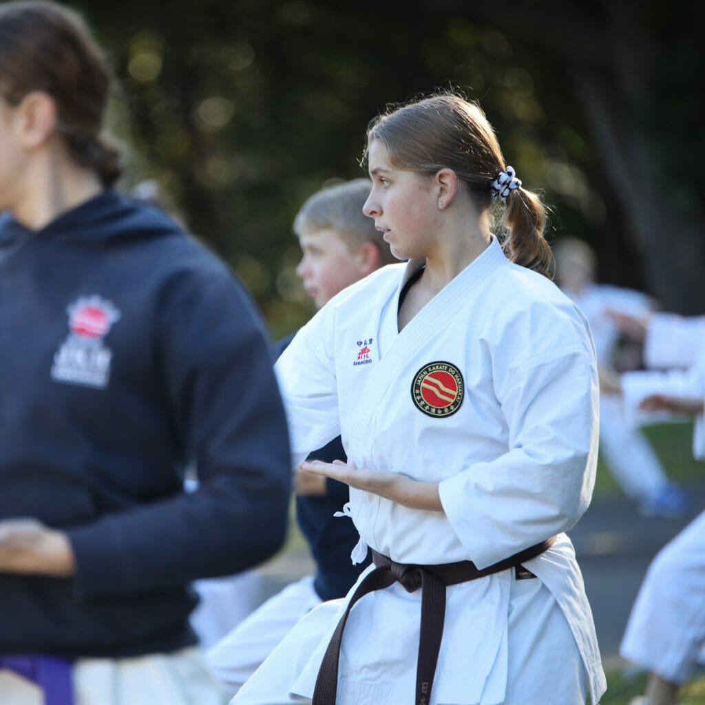Teens & Adults Karate Class on the Gold Coast
